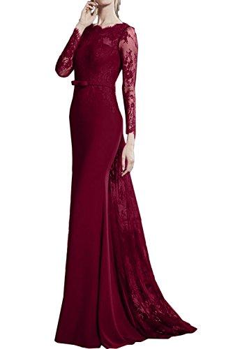 Ivydressing - Robe - Sirène - Femme rouge bordeaux