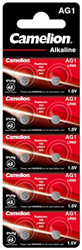 Camelion AG1-BP10 Single-Use Battery SR60 Alcalino 1,5 V - Pilas...