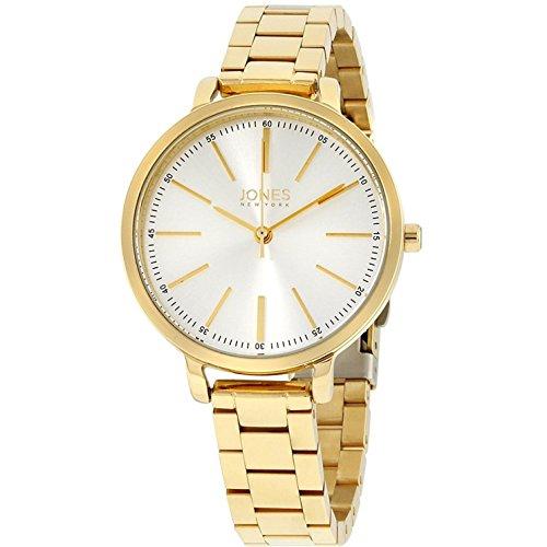 Jones New York Damen-Armbanduhr 34mm Armband Edelstahl Quarz 11593G528-005