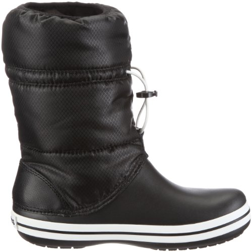 crocs Crocband Winter Boot 11035 Damen Stiefel Schwarz (Black/Black