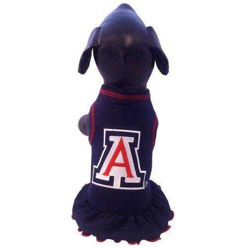 NCAA Arizona Wildcats Cheerleader Hund Kleid, Tiny von All Star Hunde INC (Arizona Kleider)