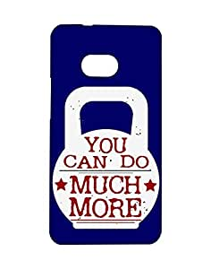 Mobifry Back case cover for HTC One Mobile ( Printed design)