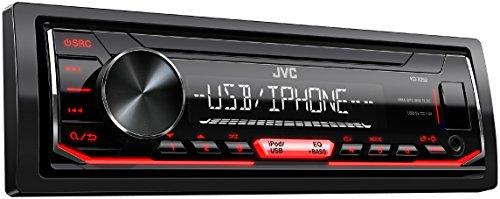 JVC KD-X252 Digital-Media-Receiver schwarz