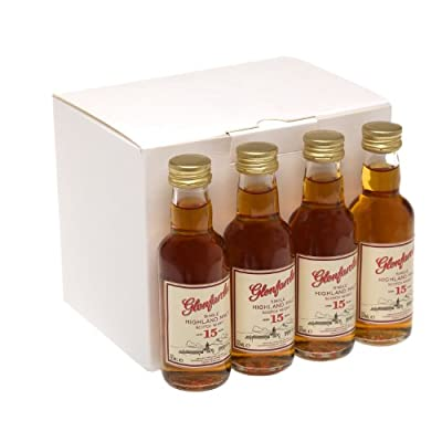 Glenfarclas 15 year old Single Malt Scotch Whisky 5cl Miniature - 12 Pack by Glenfarclas