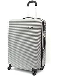 28'grande' Sirocco ABS carcasa rígida Extra resistente para equipaje maleta de viaje maleta Trolley Bolsa de viaje 4ruedas