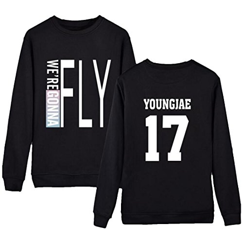 Partiss - Sweat à capuche - Femme YOUNGJAE 17 Black