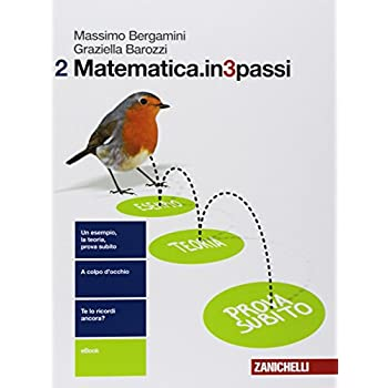 Matematica.in3Passi. Per Le Scuole Superiori. Con E-Book: 2
