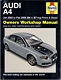 [Audi A4 Petrol and Diesel Service and Repair Manual: 2005 to 2008] (By: Martynn Randall) [published: October, 2010]