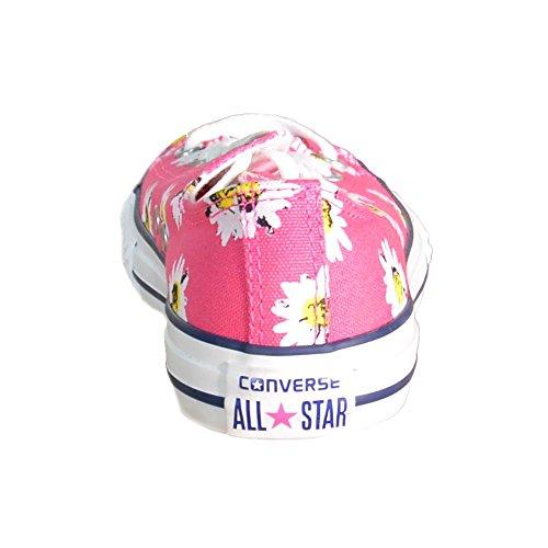Converse - Converse Ct Print Ox Scarpe Donna Rosa Tela 684827C Rosa