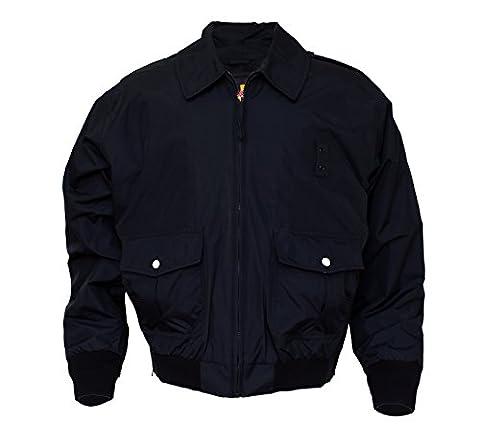 Solar 1 Clothing NY01 NYPD Police Nylon Duty Jacket, Black, Medium