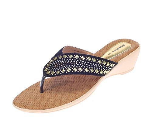Khadim's Women's Fabric/Textile Heels-8