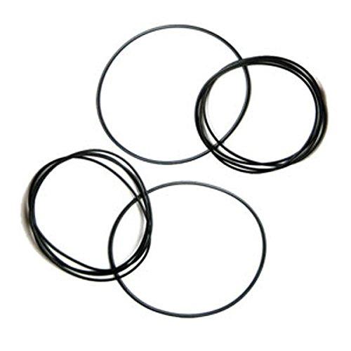 Cinghia di trasmissione per apparecchiature elettroniche H 1,2 mm diametro da 25 a 130 mm