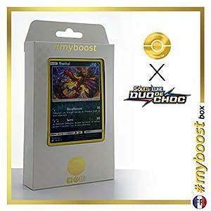 Yveltal 95/181 Holo Reverse - #myboost X Soleil & Lune 9 Duo de Choc - Box de 10 Cartas Pokémon Francés