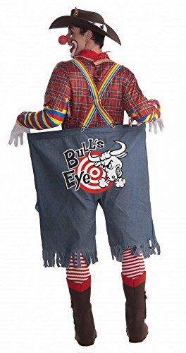 Lustiges Herren-Kostüm Rodeo Clown Gr. L/XL (Rodeo Kostüm Clown)