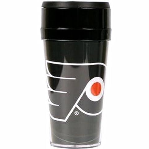 16 OZ PHILADELPHIA FLYERS NHL Team Full Color Travel Tumbler Mug by NHL