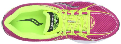 Saucony Grid Ignition 4 Pur/Ctn Scarpe da Corsa FUCSIA/CITRON