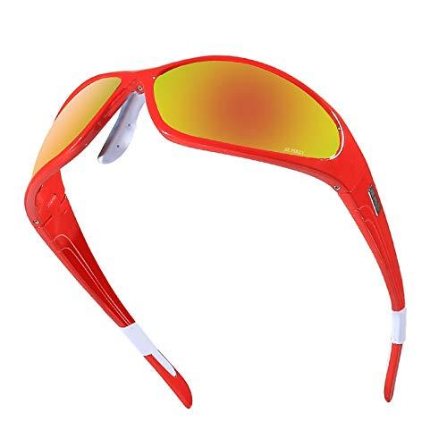 Fahrradbrille Herren Fahrradbrillen Gläser Mit Polarisierten Gläsern Reiten Tragen Angeln Im Freien Bei Red Damen Herren