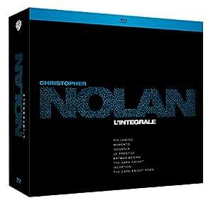 Christopher Nolan, l'intégrale : Following + Memento + Insomnia + Le prestige + Trilogie Batman + Inception [Édition Limitée]