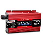 UKC 500W USB Car Inverter DC 12V a la CA 220V directamente a la batería de coche