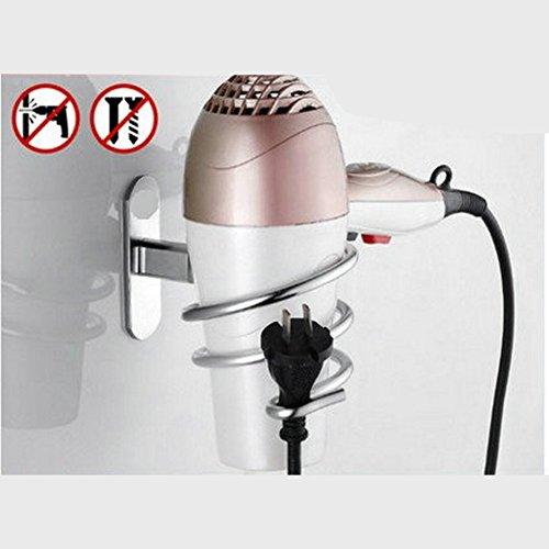 Zantec Soporte para secador de pelo eléctrico