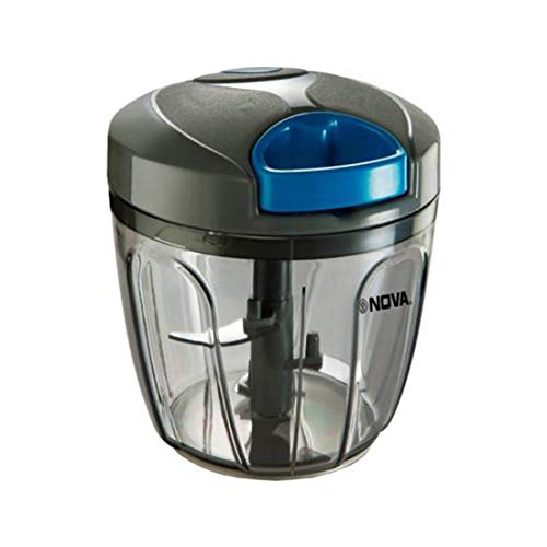 Nova NHC-900 Plastic Handy Chopper with Whisker, 900ml, Grey