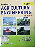 Principal Of Agricultural Engg.Vol -I