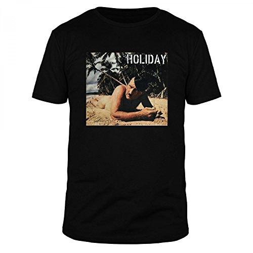 FABTEE Holiday Adolf - Herren T-Shirt Bio Baumwolle - Verschiedene Farben - Größen S-3XL, Größe:M, - Deutsche Nazi