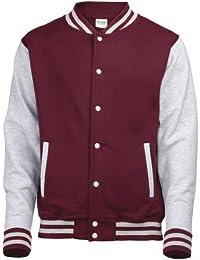 Awdis Varsity Jacket, Sweat-Shirt Homme