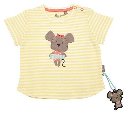 Sigikid Mädchen, Baby T-Shirt, Gelb (Luminary Green 387), Herstellergröße: 74