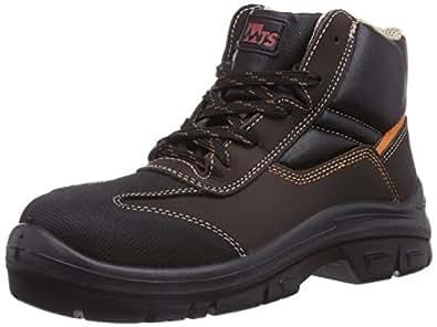MTS Sicherheitsschuhe Soprano S3 Flex 40104, Chaussures de Sécurité Mixte Adulte, Marron (Braun/Schwarz), 39