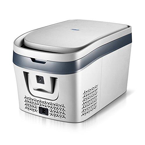 Auto-Kühlschrank - Kompressor-Auto-Kühlschrank-Gefrierschrank Mini-Kleinwagen-Startseite Dual-Use-Kühlung 12V-24V kann Freeze Portable Auto Refrigerato (Color : Car 12-24v) - Portable Shop Schreibtisch