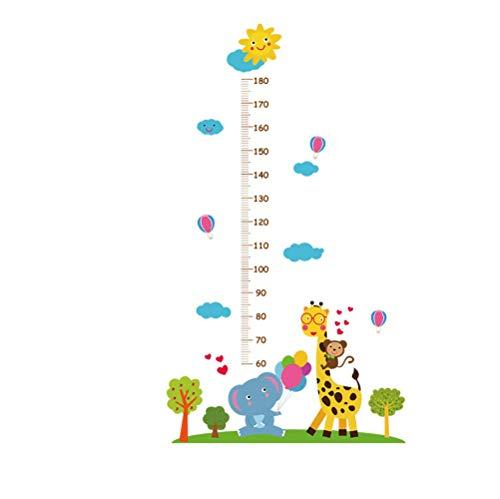 Giraffe Baby Elephant Height Paste Children'S Room Xuanguan Kindergarten Dress Layout Wall Paste