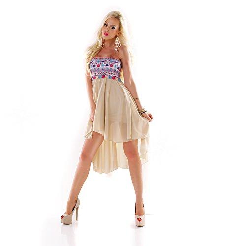 Fashion - Robe - Femme Taille Unique Beige