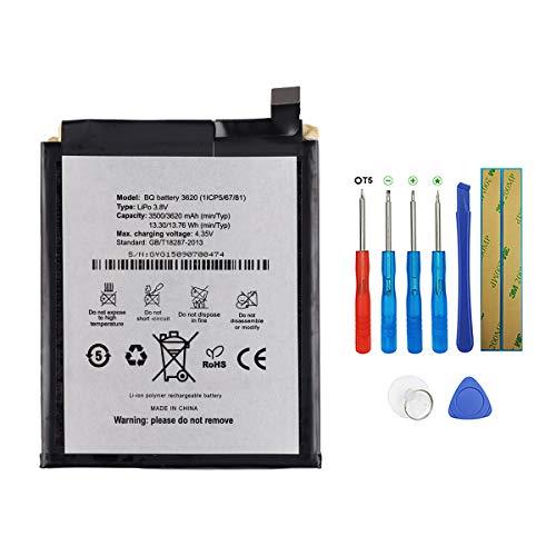 SWARK BQ 3620 - Batería Compatible BQ Aquaris M5.5