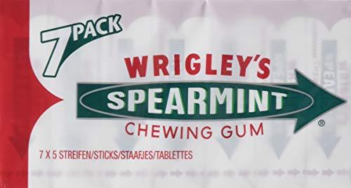 Wrigley's Spearmint Multipack 7 x 5 Streifen, 14er Pack