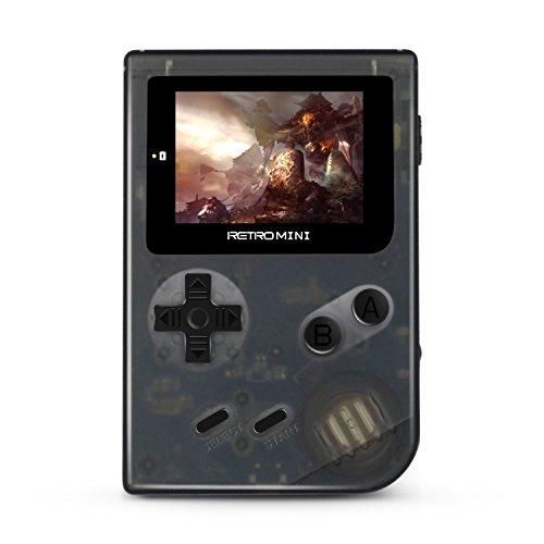 Retro Minihandspielkonsole, 2 Zoll HD Bildschirm mit 548 klassischen Spielen, Video / Musik / E-Buch Bestes Kindergeschenk