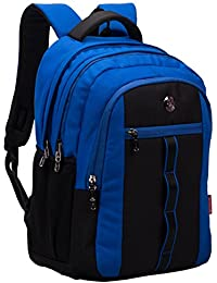 COSMUS Polyester 33 Ltr Royal Blue-Black School Backpack 2943dc58e4985