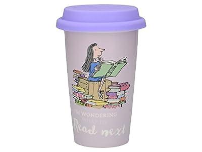 Creative Tops Roald Dahl Fine China Insulated Travel Mug with Silicone Lid