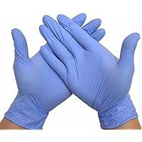 Bazaar 100pcs SML Extra Thin Nitril Elastic Kostenlose Einweg Convenient weit Gebrauch Handschuhe Handschutz