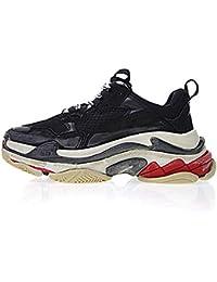 7514ea9f9b Triple-S Sneaker Unisex Uomo Donna Scarpe da Ginnastica Corsa Sportive  Fitness Running Sneakers -