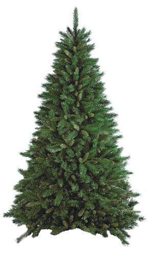 Albero di Natale New FROSTY GREEN 240 cm Colore Verde SUPERFOLTO 2136 rami