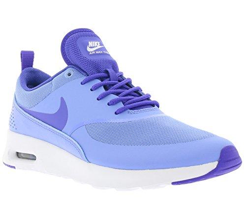 Nike - Air Max Thea, Scarpe Da Corsa da Donna Blu (Azul (Chalk Blue / Prsn Violet-White))