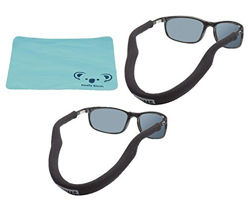 Chums Floating Neoprene Eyewear Retainer, Sunglass Strap,   Eyeglass Float    2pk Bundle + 5b268173e226