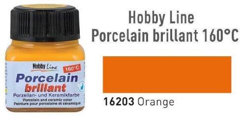 Hobby Line Porzellanmalfarbe, 20ml, Orange