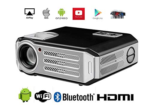 3D Projector 1080P WiFi Proyector HDMI videoproyector