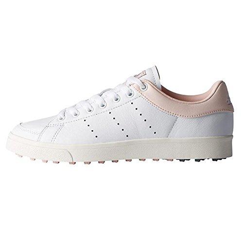 new concept c4f21 c0021 adidas Damen W Adicross Classic-Leather Golfschuhe, Weiß (Blanco F33714), 39