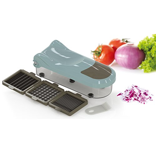 Gemüseschneider Kartoffelschneider Zwiebelschneider No-Durcheinander Gemüsefrucht-Zerhacker Dicer neues Blatt Verbessert für Karotte Kartoffel Käse-Schneider Küchen-Zerhacker