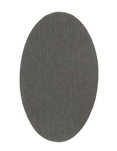 2Knie Wildleder Grau zum Aufbügeln für Bügeln für Schutz Ihrer Kleidung und Reparatur von Jeans, Jacken, Pullover, Hemden Ellenbogen. 16x 10cm. Ref. 92grau