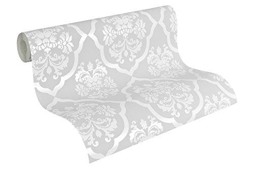as-creation-vliestapete-naf-naf-mustertapete-klassisch-barock-achatgrau-signalweiss-952242
