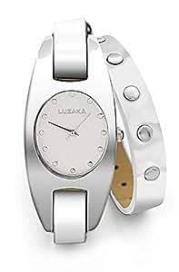 Luzaka France - Montres femme - Montre KAREN blanche - Montre Fashion pas chère - Livrée en écrin cadeau - Garantie 1 an